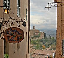 Il Grappolo Blu - Montalcino by Chris Allen