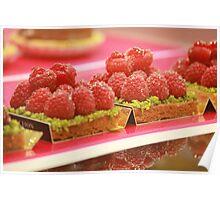 Eat Me - Raspberry and Pistachio Tart Poster