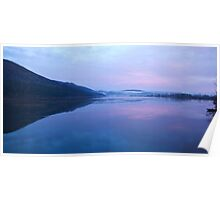 Cerknica lake at dawn, Notranjska, Slovenia Poster