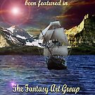 Fantasy Art Group Challenge Banner. by Susie Hawkins