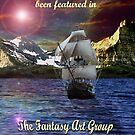 Fantasy Art Group Challenge Banner. by Susie Hawkins