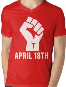 April 18th Mens V-Neck T-Shirt