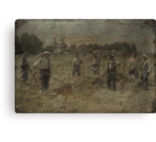 French Farmers Canvas Print