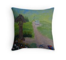 September. Latgalia. 3-30 p.m. Throw Pillow