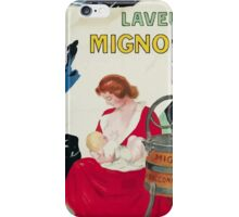 Leonetto Cappiello Affiche Laveuse Mignon iPhone Case/Skin