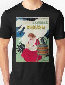 Leonetto Cappiello Affiche Laveuse Mignon T-Shirt