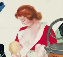 Leonetto Cappiello Affiche Laveuse Mignon Sticker