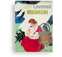 Leonetto Cappiello Affiche Laveuse Mignon Metal Print