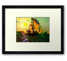 SAILING ON FLORIDA WATERS, by E. Giupponi Framed Print