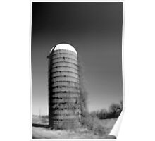 Lonely silo Poster