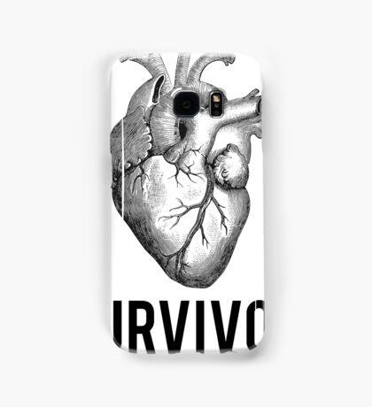 Heart Health Survivor Samsung Galaxy Case/Skin