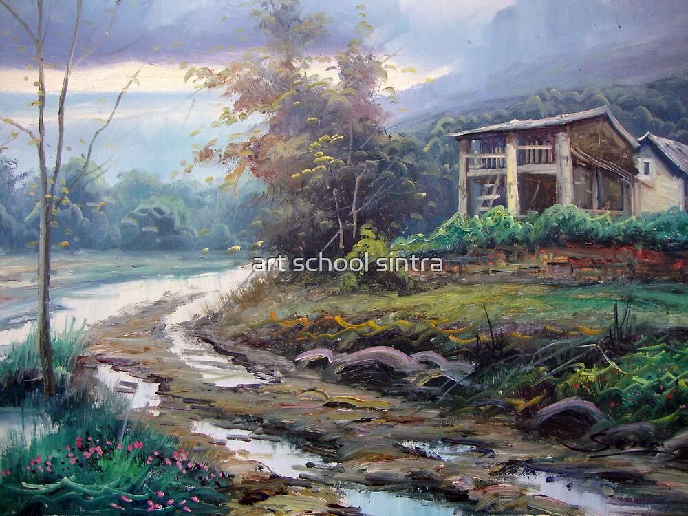 norte da peninsula by art school sintra