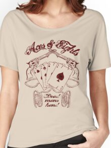 aces & eights Women's Relaxed Fit T-Shirt