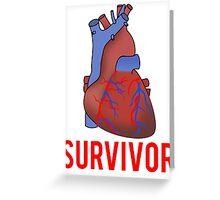 Heart Health Survivor Greeting Card