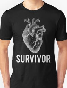 Heart Health Survivor Unisex T-Shirt