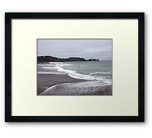 Marin Headlands Beach Framed Print