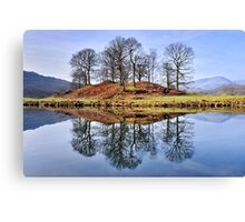 The Lake District - River Brathay Canvas Print