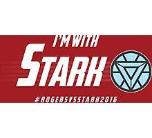 I'm with: Stark Photographic Print