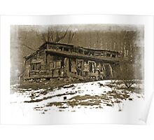Marcellus Barn-showing it's age Poster