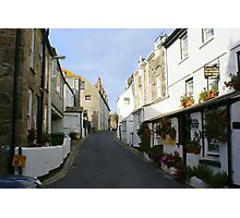 St Ives Cornwall streetscape Photographic Print