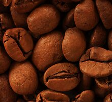 Coffee beans by Jouko Mikkola