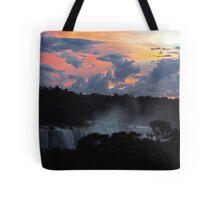 Iguassu Falls Sunset Tote Bag