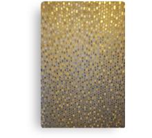 Golden Texture Canvas Print