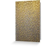 Golden Texture Greeting Card