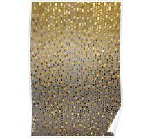 Golden Texture Poster