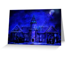 Winter Castle Greeting Card
