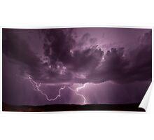 Pilbara Lightning Poster