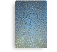 Abstract Background - Blue / Golden Canvas Print