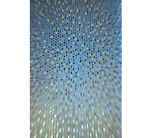 Abstract Background - Blue / Golden Photographic Print