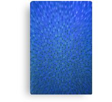 Dark Blue / Golden Background Canvas Print