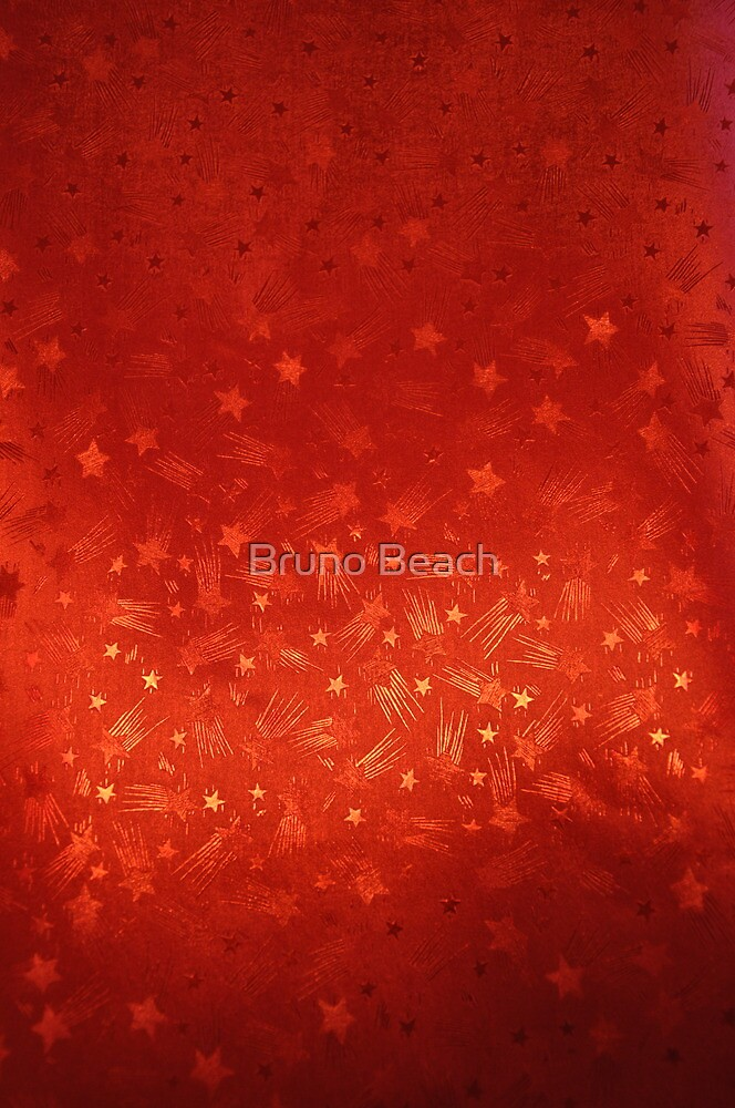 Red Abstract Background by Bruno Beach
