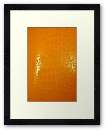 Orange Abstract Background by Atanas Bozhikov NASKO