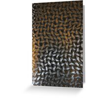 Abstract Net Background Greeting Card