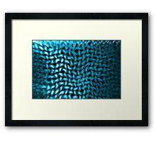 Textured Net Framed Print