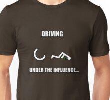 Driving Under the Influence - Disabiltiy Logo Apparel Unisex T-Shirt