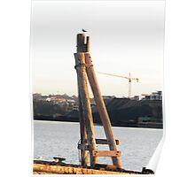 HOMEBUSH BAY SHIPWRECKS Poster