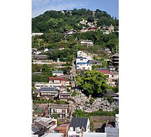 Writer's walk, Onomichi Photographic Print