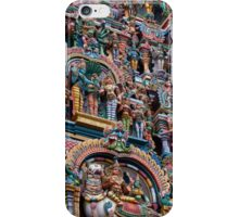Shree Meenakshi Temple gate, Madurai, India iPhone Case/Skin