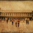 San Marco Square - Venice - 1968 by pennyswork