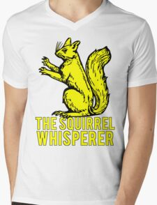 The Squirrel Whisperer Mens V-Neck T-Shirt