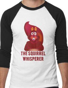The Squirrel Whisperer Men's Baseball ¾ T-Shirt