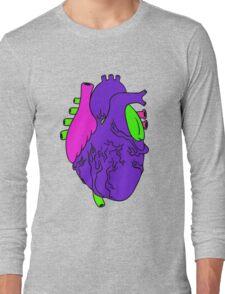 Heart Arty verison colour  Long Sleeve T-Shirt