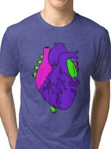 Heart Arty verison colour  Tri-blend T-Shirt
