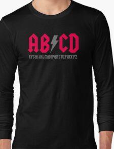 Abcd Parody Long Sleeve T-Shirt