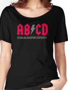 Abcd Parody Women's Relaxed Fit T-Shirt