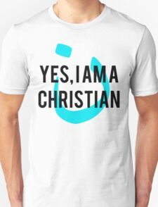 Yes, I am a  Christian Nun Symbol T-Shirt